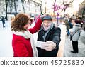 couple, christmas, winter 45725839
