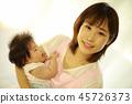 Baby and nursery teacher image 45726373