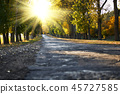 road, autumn, fall 45727585