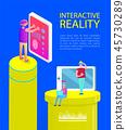 interactive virtual entertainment 45730289