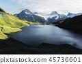 湖泊 湖 阿尔卑斯山脉 45736601