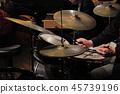 爵士鼓演奏 45739196
