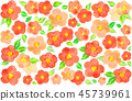 Camellia pattern background material 45739961