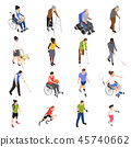 set disabled handicapped 45740662