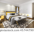 bed,bedroom,interior 45744790