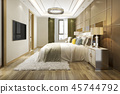 bed,bedroom,interior 45744792