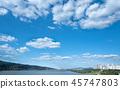 하늘, 구름, 강, 서울 45747803