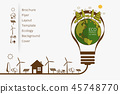 Vector illustration of eco earth 45748770