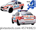 Swiss Police Car 45749823