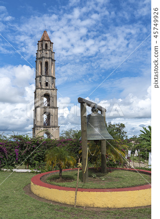 Manaca Iznaga Tower in Valley of the Sugar Mills 45749926