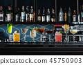wine alcohol bar 45750903