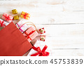 Boxing day concept with shopping bag and gift box 45753839