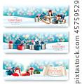 christmas, gift, snow 45759529