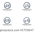 bike, icon, vector 45759647
