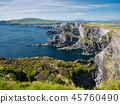 View to Cliff of Kerry near Portmagee in Ireland 45760490