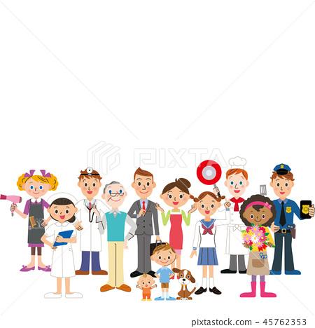 在該地區生活和工作的人 45762353