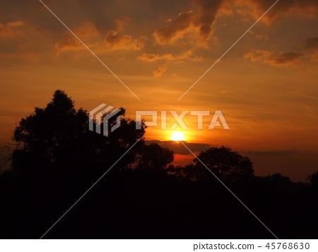 Sunset at Preloop 45768630
