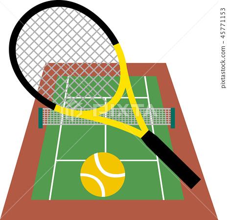 網球場 45771153