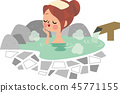 Hot spring beauty 45771155