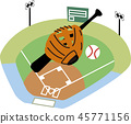 baseball Ground 45771156