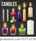 candle, 3d, fire 45771578