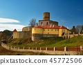 Beautiful old Czech castle Svojanov.Czech Republic 45772506