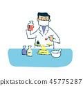 นักวิจัย,การทดลอง,ผู้ชาย 45775287