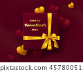 Valentines day holiday design. 45780051