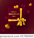 Valentines day holiday design. 45780065