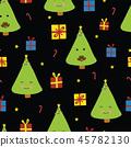 vector, tree, pattern 45782130