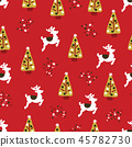 Christmas holidays seamless repeat vector pattern 45782730