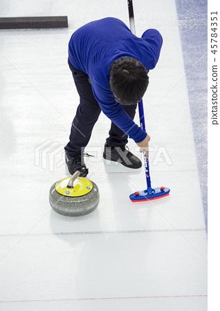 冰壺 45784351