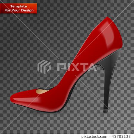 Modern womens fashion shoes 45785138