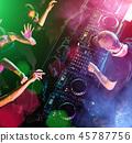 music, man, dj 45787756