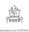 cooking kitchen icon 45787845