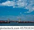 สะพาน,น้ำ,แม่น้ำ 45791634