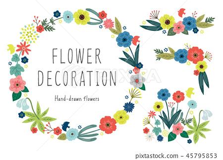 各種花卉裝飾 45795853