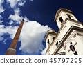 Chiesa della Trinita dei Monte Trinita dei Monti Church Rome 45797295