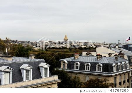 Paris cityscape 45797299