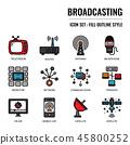 Broadcasting 45800252