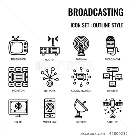 Broadcasting 45800253