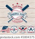 baseball, vector, ball 45804375