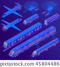 3d isometric transport 45804486