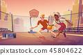 basketball player sport 45804622