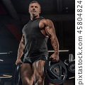 gym muscle men 45804824