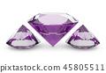 Three pink diamonds 45805511