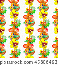 pattern, flowers, background 45806493