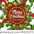 christmas, xmas, greeting 45810375