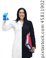 woman scientist businesswoman 45811902