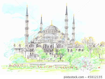 Blue Mosque 45812135